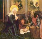 Geburt Christi, Gemälde von Hans_Schäufelein