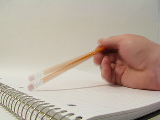 Tapping a pencil - CC BY 2.0 by Rennett Stowe